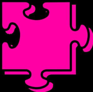 Autism clipart pink. Puzzle piece hubpicture pin
