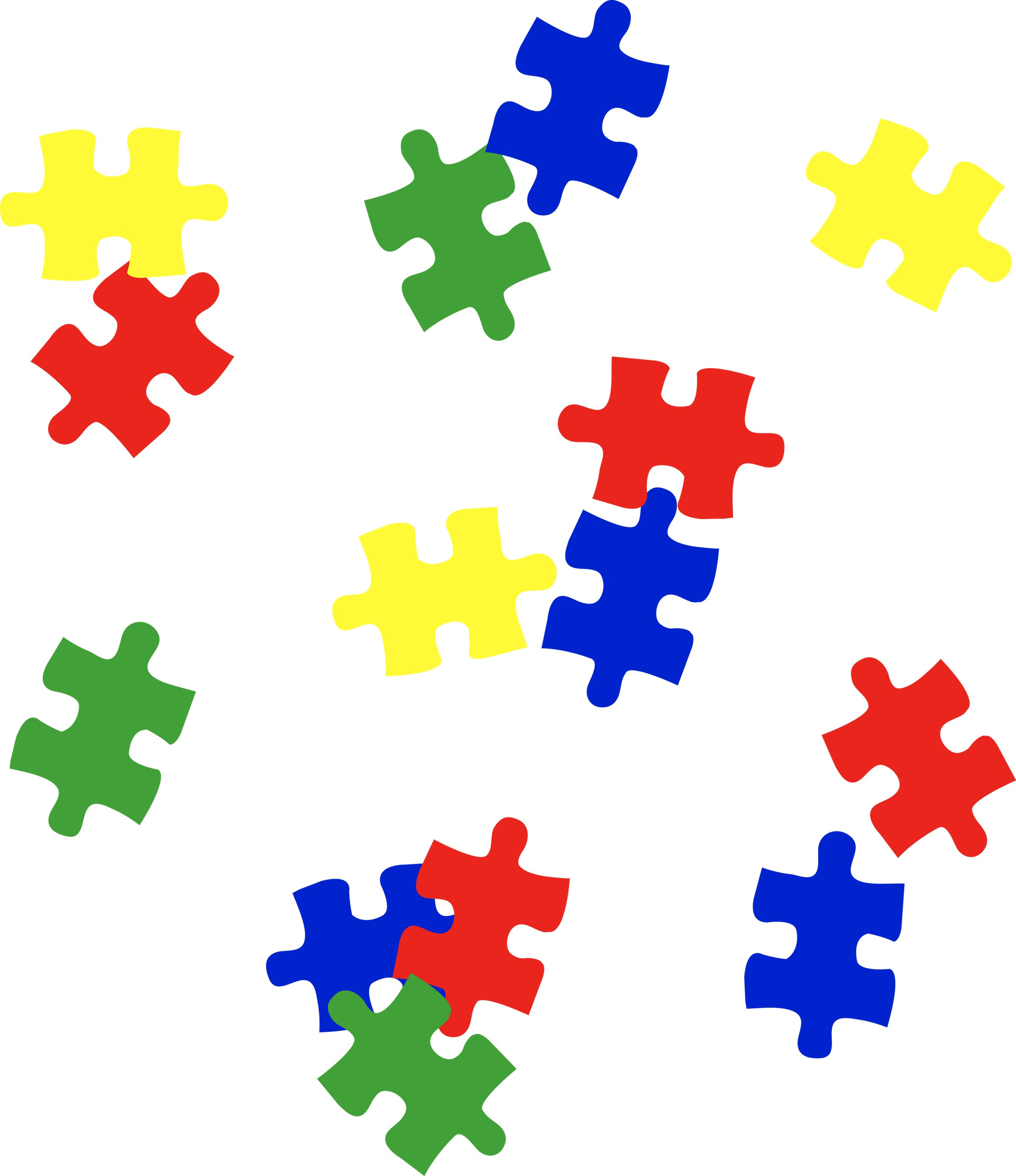 Border thatswhatsup stunning. Autism clipart puzzle piece