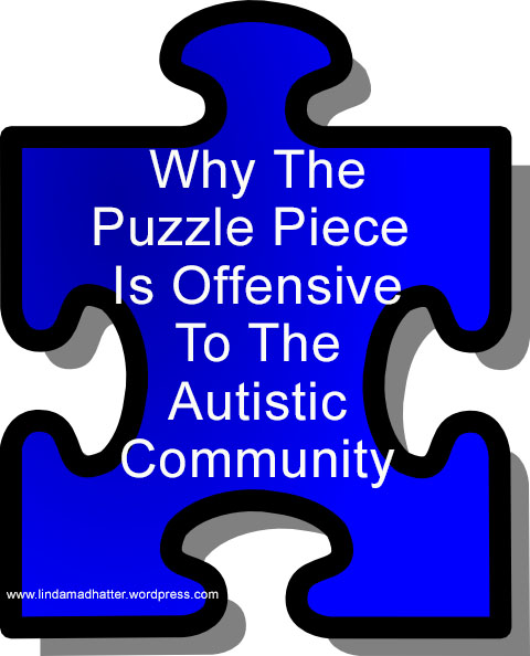 Autism clipart puzzle piece. The linda mad hatter