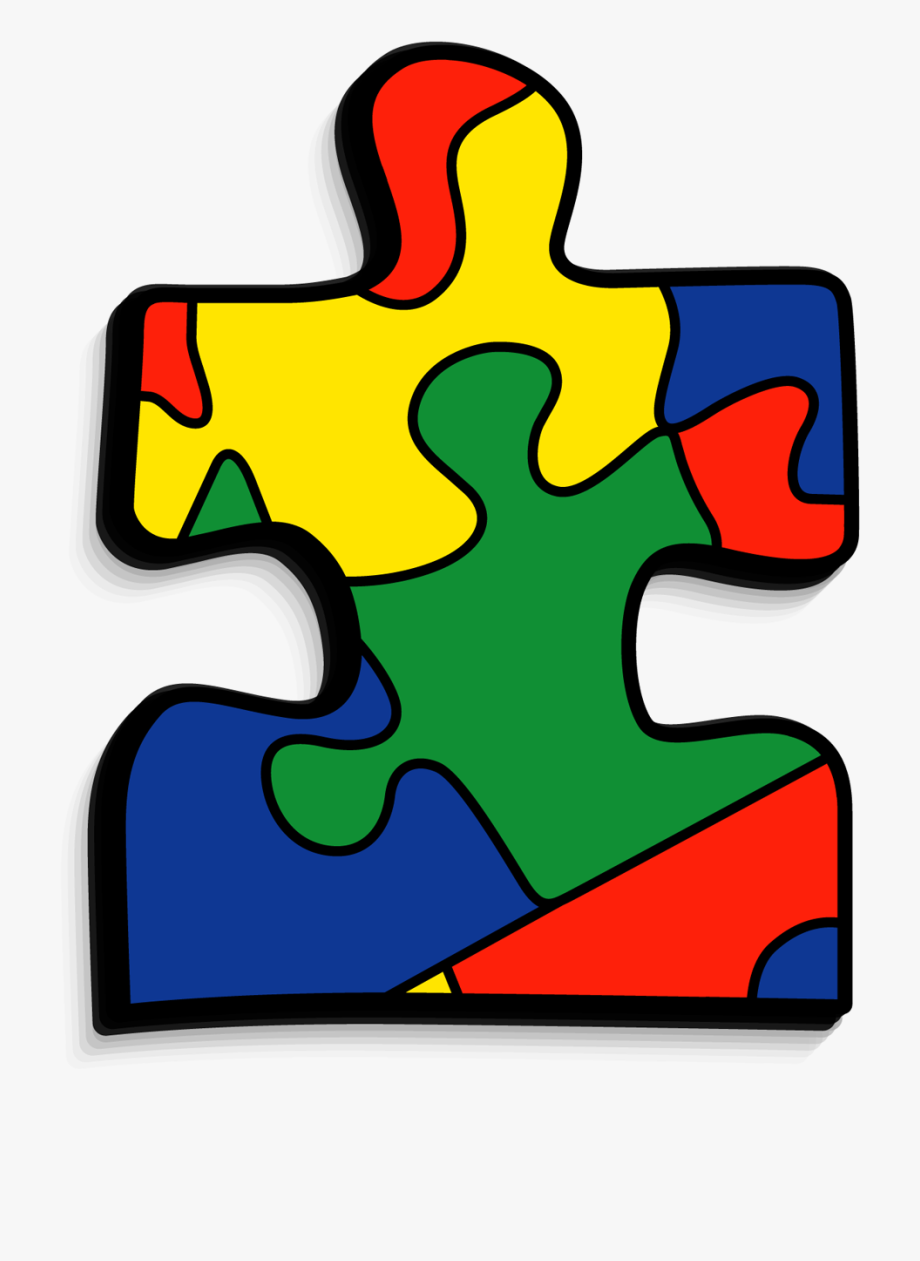 Puzzle clipart autism. Transparent clear piece