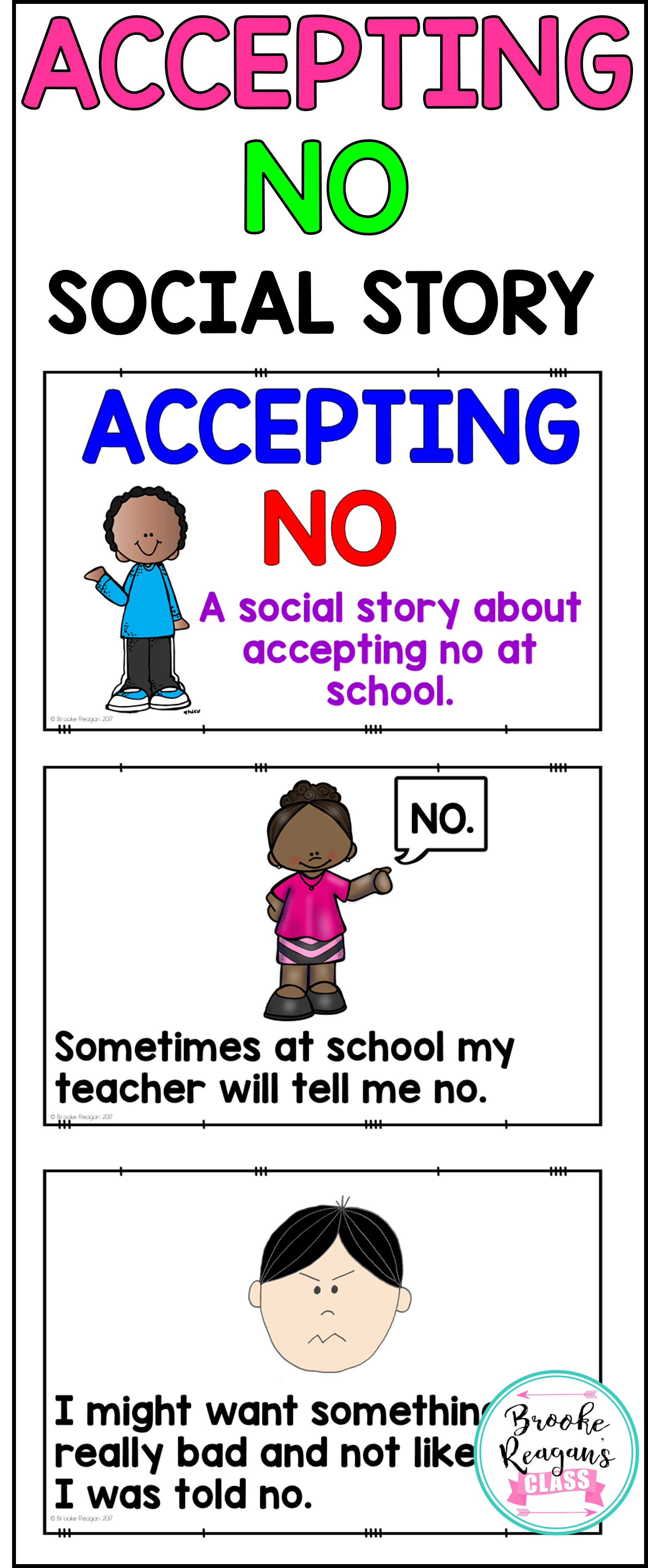 Social stories accepting no. Teen clipart guidance counselling