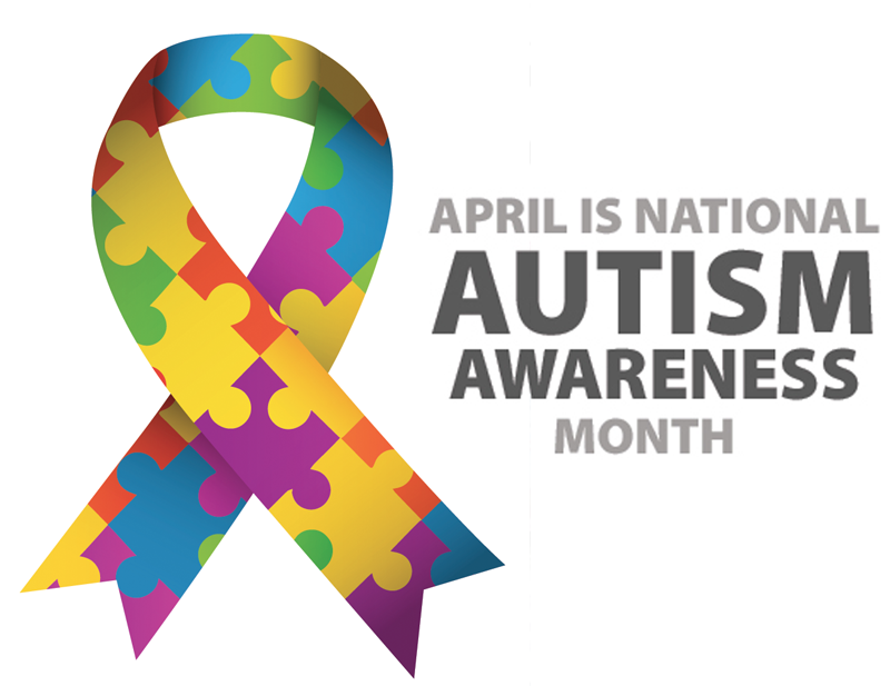 April month central florida. Autism clipart social awareness