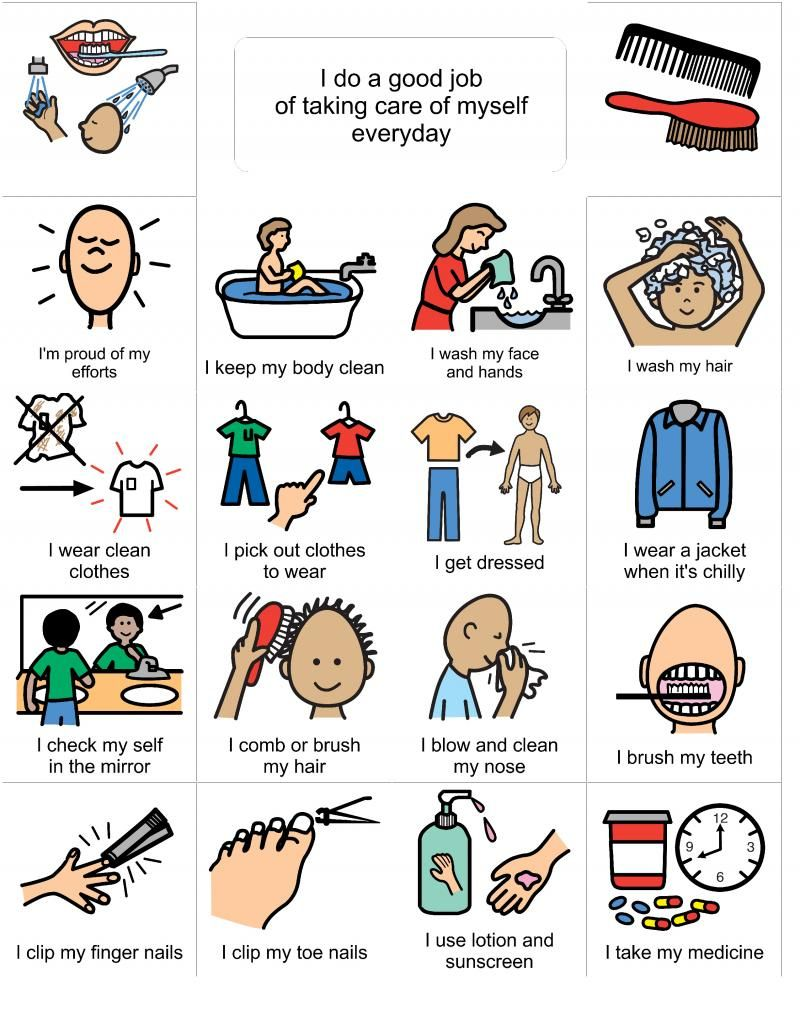 Caring clipart nail. Social stories hygeine grooming