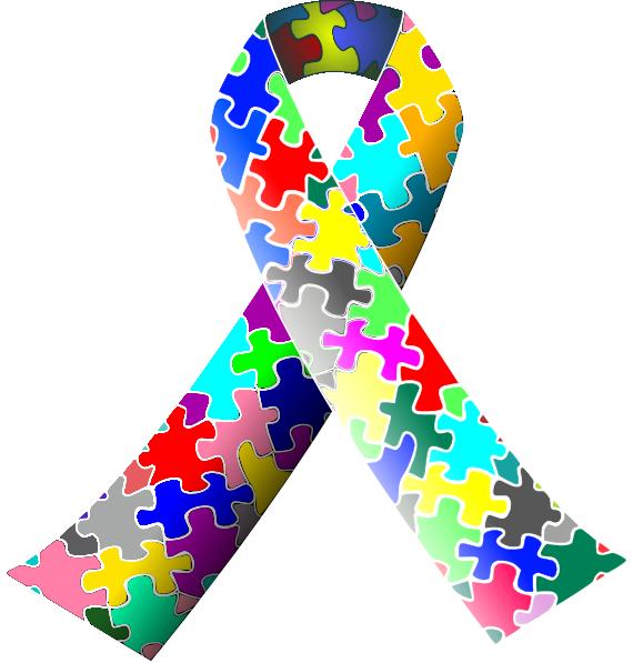 Hd ribbon clip art. Autism clipart special need
