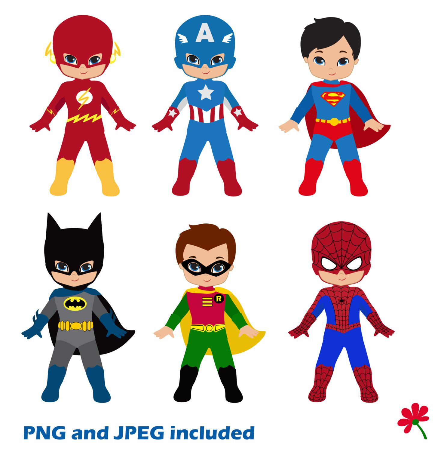 Boy clip art little. Announcements clipart superhero