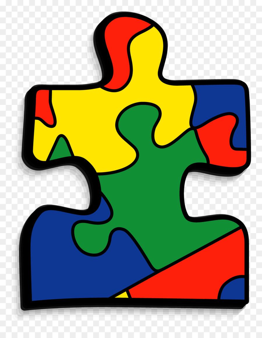 Jigsaw puzzles world awareness. Autism clipart transparent