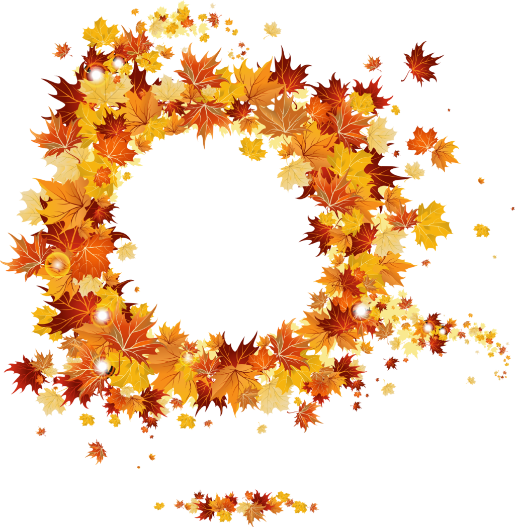 Transparent images all pic. Autumn border png