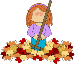 Fall clipart. Clip art images girl
