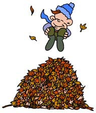 Fall and seasonal graphics. Autumn clipart animated