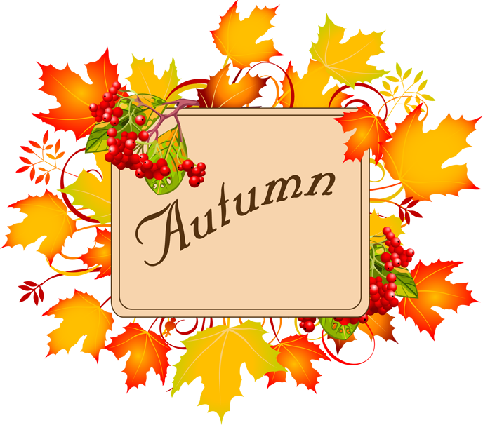 . Autumn clipart autumn season