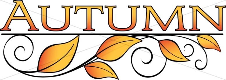 Leaves art thanksgiving. Autumn clipart autumn word