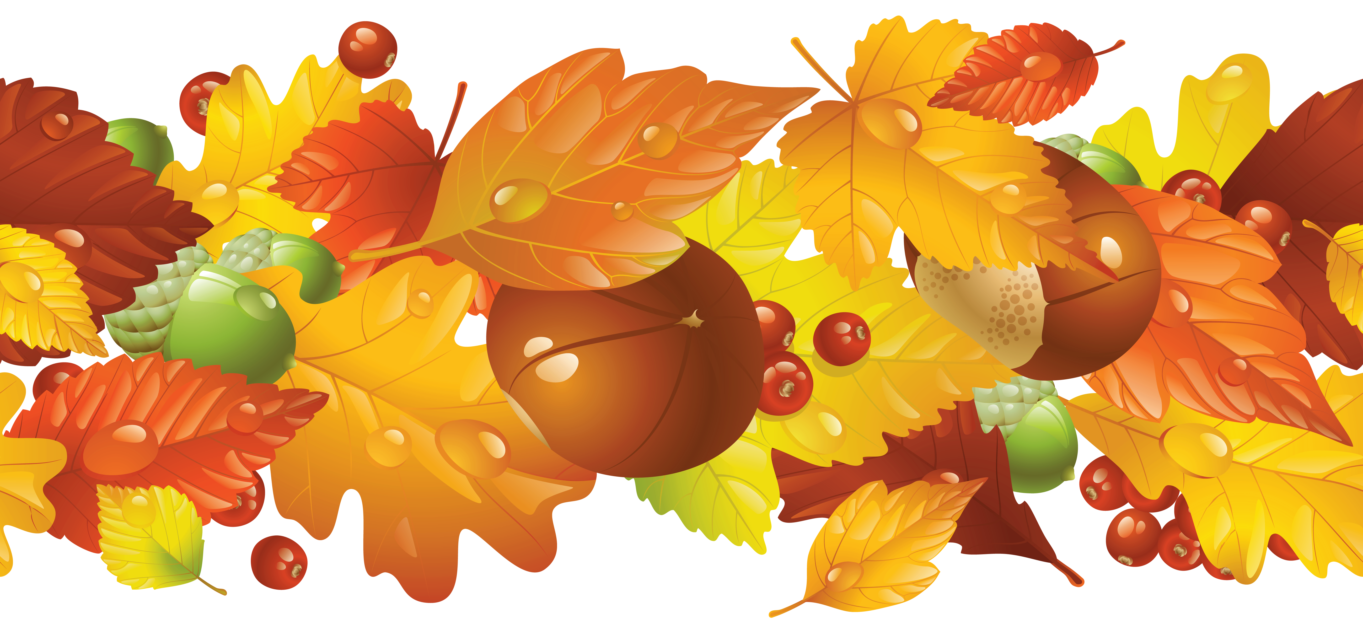 Transparent clipart picture gallery. Fall border png