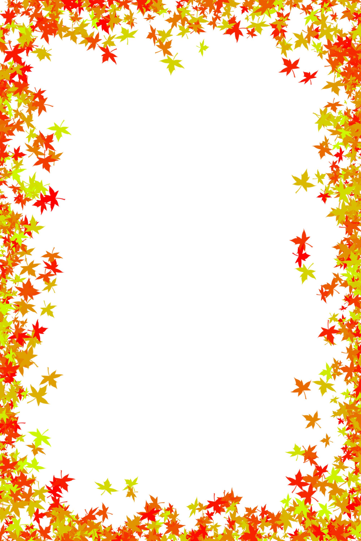 Autumn clipart boarder. Fall border clip art