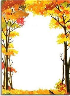 Autumn clipart boarder. Borders clip art free