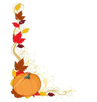 Fall free images pinterest. Pumpkin clipart border