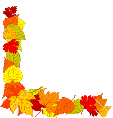Leaf clipart borders. Free fall download clip