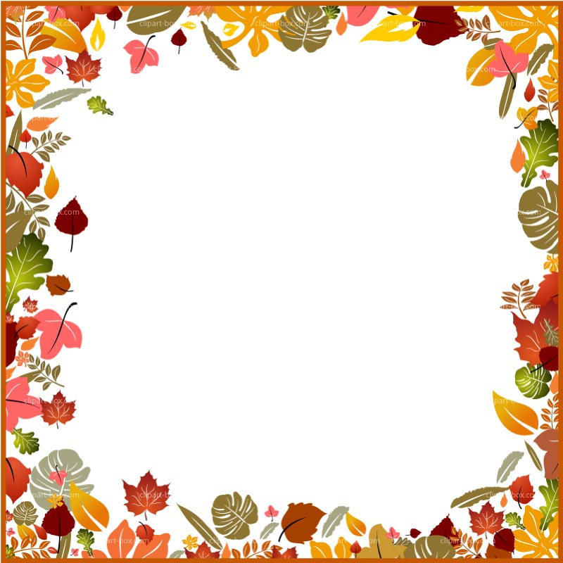 Calendar clipart autumn. Borders free ideas esnc