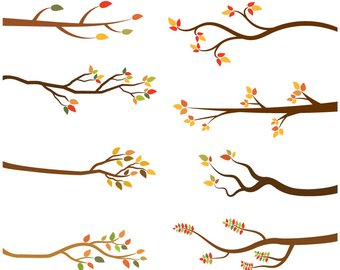 Autumn clipart branch.  off sale branches