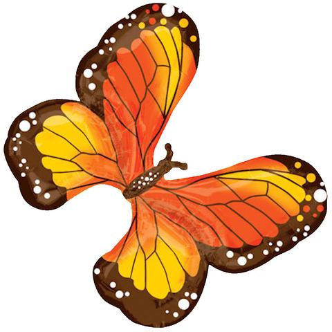 Monarch balloon bouquet jeckaroonie. Autumn clipart butterfly