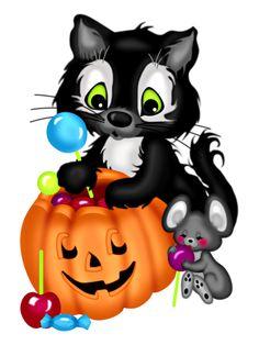 theme halloween pinterest. Autumn clipart cat