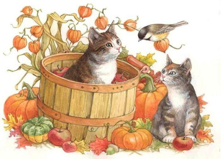Forum sunday hunt september. Autumn clipart cat