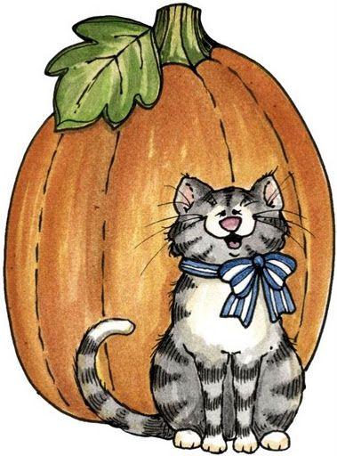 Autumn clipart cat. Pin by susan serr