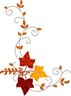 Autumn clipart corner.  collection of thanksgiving