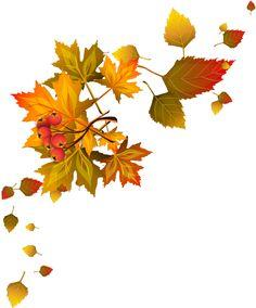 Transparent border png gallery. Autumn clipart corner