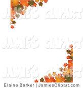 Royalty free stock jamie. Autumn clipart corner