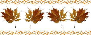 Autumn clipart corner. Fall leaves clip art