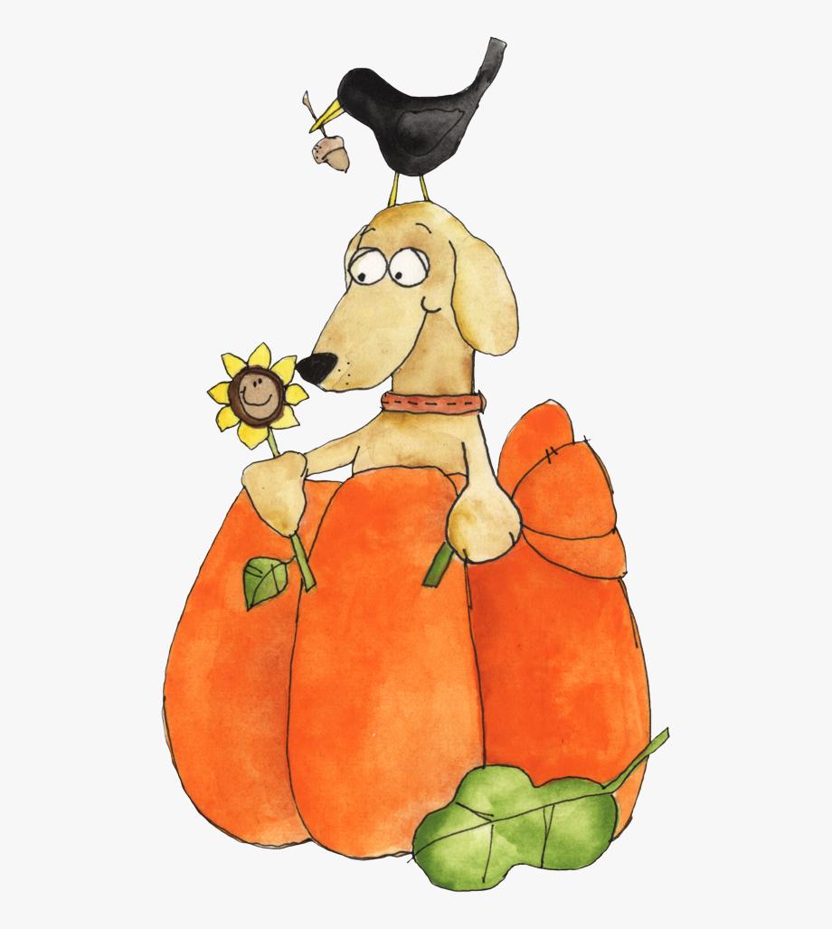 Ch b welcome halloween. Autumn clipart dog