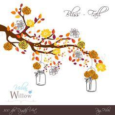Autumn clipart elegant. Vector string lights wedding