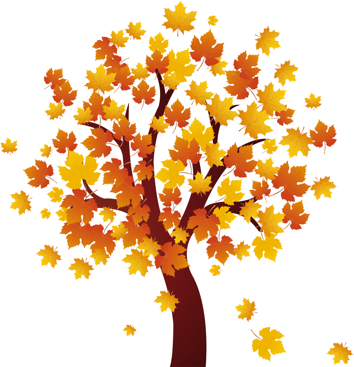 Tree clipart november.  collection of autumn