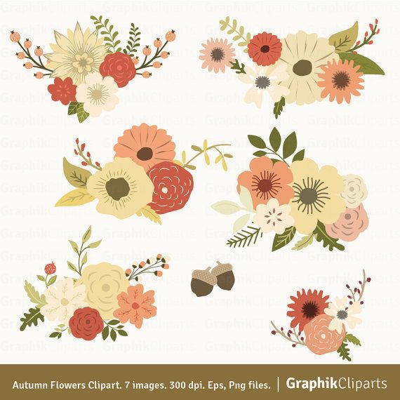 Pin by tucker johnson. Autumn clipart floral