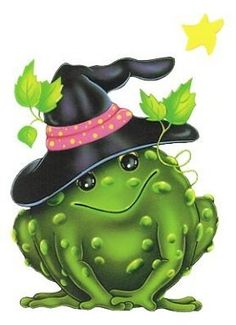Scarecrow he s so. Autumn clipart frog