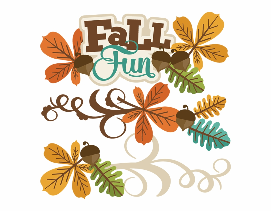 Autumn clipart fun. Fall svg file files