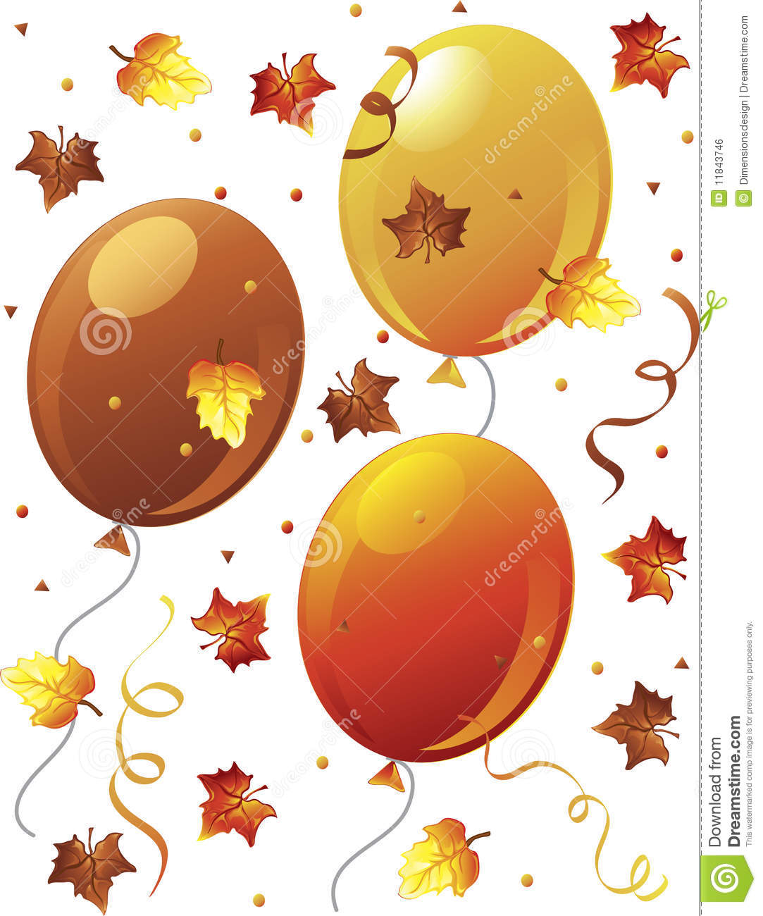 Fall terrific banner clip. Autumn clipart happy birthday