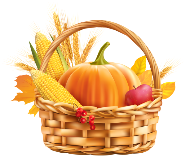 Basket png image scrapbook. Autumn clipart harvest