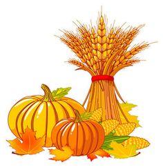 Fall pumpkin clip art. Autumn clipart harvest