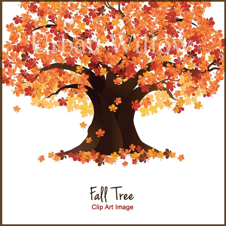 Clip art trees maple. Clipart fall autumn tree
