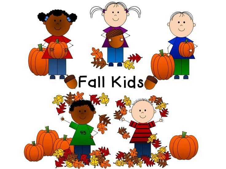 best clip art. Autumn clipart preschool