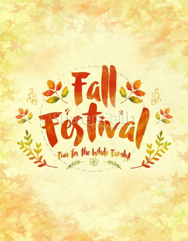 Autumn clipart religious. Fall festival family fun