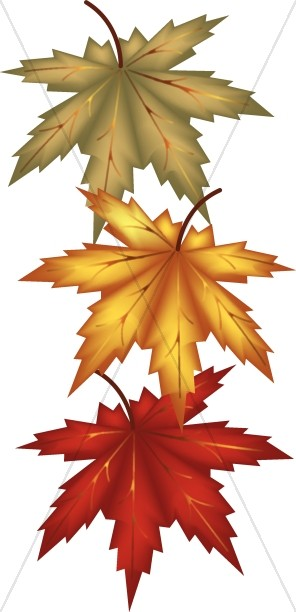 Leaves harvest day. Autumn clipart religious