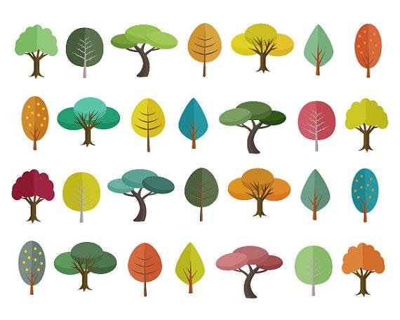 Autumn clipart scrapbook. Tree sale off clip