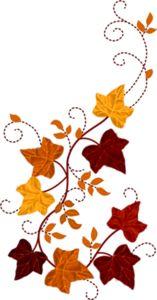 b a c. Autumn clipart scrapbook