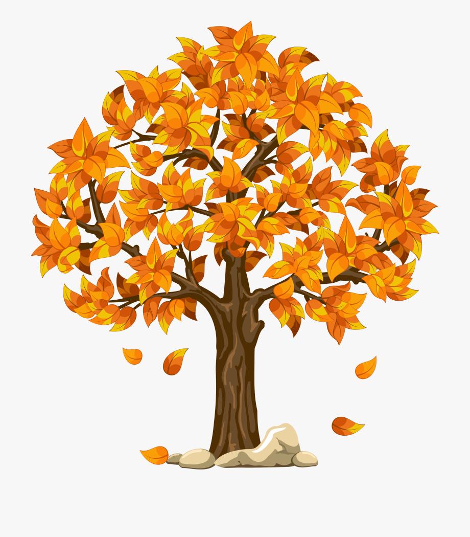 Clipart fall autumn tree. Trees in seasons free