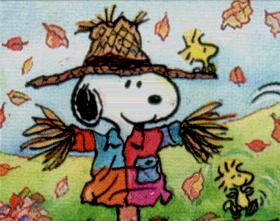 Autumn clipart snoopy.  wallpaper fall kid