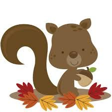 Autumn clipart squirrel.  best m kusos