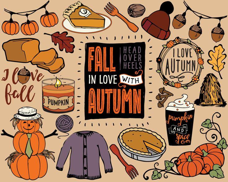 Autumn clipart sticker.  best images on