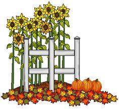 Fall clip art sunflowers. Autumn clipart sunflower